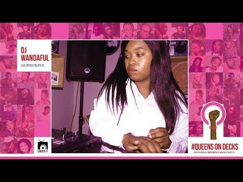 Dj Wandaful SA With Ur #QueensOnDecks Mix On #BestBeatsTv