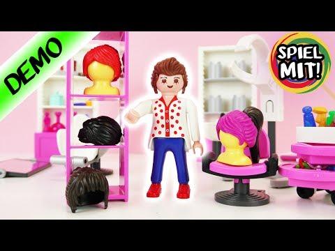 Playmobil Friseursalon CLAUDIA VOGEL probiert 10 Frisuren aus | Top 10 | Welche Haare gefallen euch?