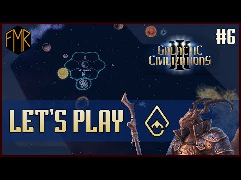 Meeting a new race - Let's Play - Galactic Civilizations 3 Crusade - #6