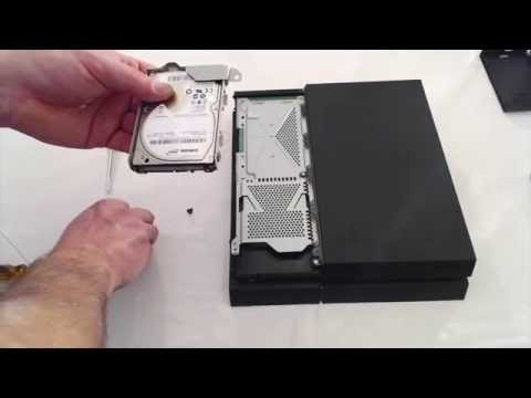 how to replace ps4 hard drive seagate