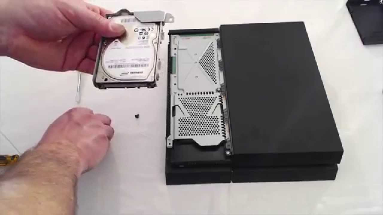 Ps4 2tb Hard Drive Upgrade Youtube
