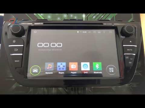 Обзор штатной магнитолы для Suzuki SX4 2014+ INCAR AHR-8073