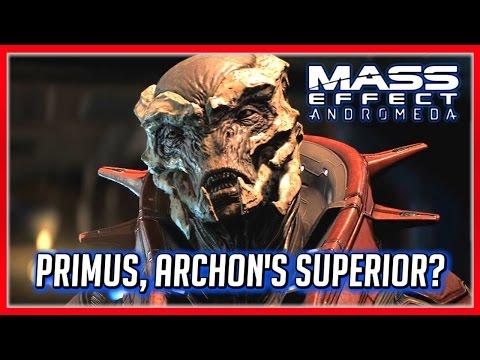 Mass Effect ANDROMEDA: Primus Reveal Scene