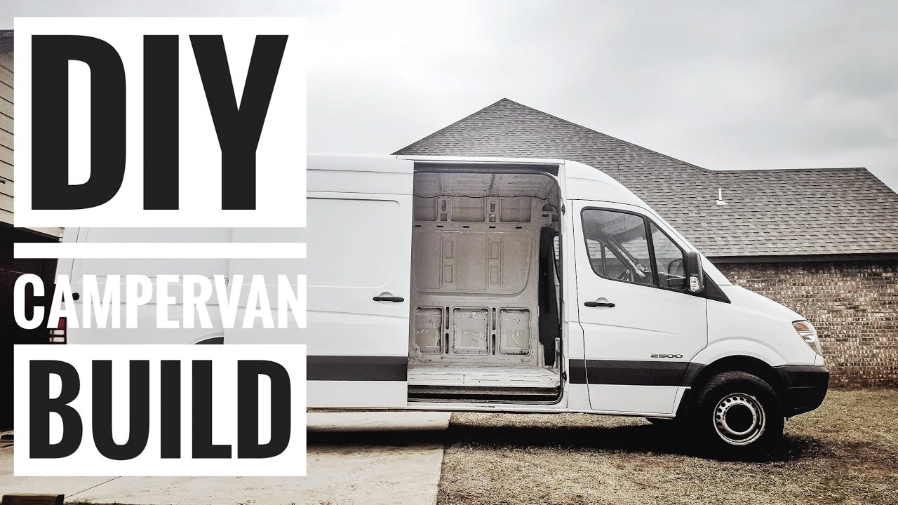 The 🚙 Vanlife Build Begins: Our DIY Sprinter Campervan Build