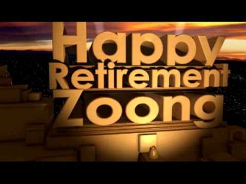 Happy Retirement Zoong