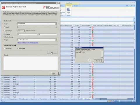 SSAS: Scenario Analysis - Goal Seek Video Tutorial (Data Mining Add-in For Excel)