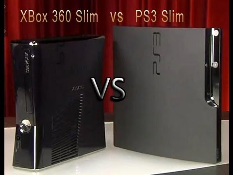 Xbox 360 Slim vs Ps3 Slim (Loquendo) - YouTube