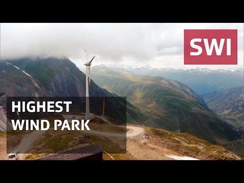 Europe's highest wind park