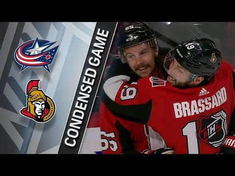 Columbus Blue Jackets vs Ottawa Senators – Dec. 29, 2017 | Game Highlights | NHL 2017/18.Обзор матча