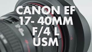 Lens Data - Canon EF 17-40mm f/4 L USM Review