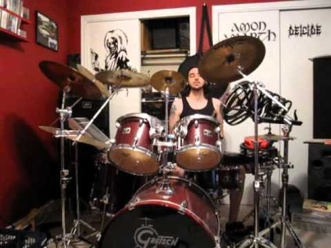 Cannibal Corpse - The Wretched Spawn (Drum Cover)