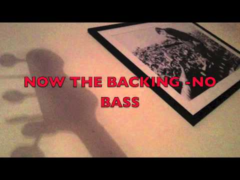 JOHNNY BE GOOD .. TUITION ...THE JS STYLE 1 FINGER PUSH.... HOW I DO IT..& backing track