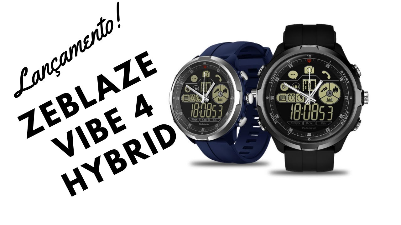 539b279013c SmartWatch Zeblaze Vibe 4 Hybrid - YouTube
