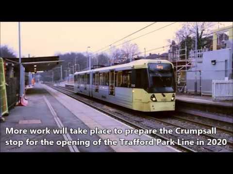 Crumpsall prepares for Trafford Park Metrolink Line