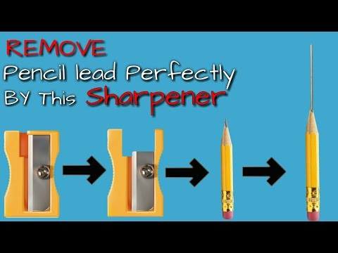 DIY| How to remove pencil lead Perfectly | How to make soldering iron's pencil |