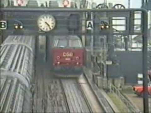 DSB Nyborg færgehavn 14-Apr-1990
