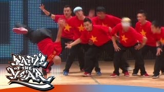 BATTLE OF THE YEAR 2010 - SHOWCASE - BIG TOE CREW (VIETNAM) [OFFICIAL HD VERSION BOTY TV]
