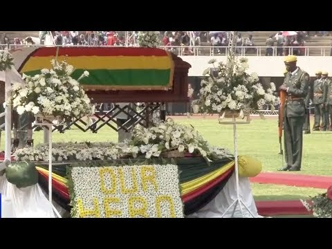 Zimbabwe holds state funeral for former leader Robert Mugabe
