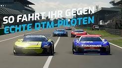 #RaceHome – so könnt Ihr gegen echte DTM-Piloten antreten!