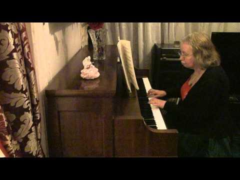 """KOMPONIST UNBEKANNT""  ""MENUET"" BWV ANH.16, piano."