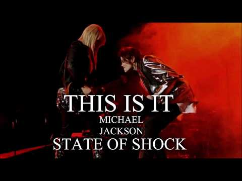 STATE OF SHOCK - This Is It - Soundalike Live Rehearsal - Michael Jackson