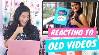 Reacting To My Old YouTube Videos | Dhwani Bhatt