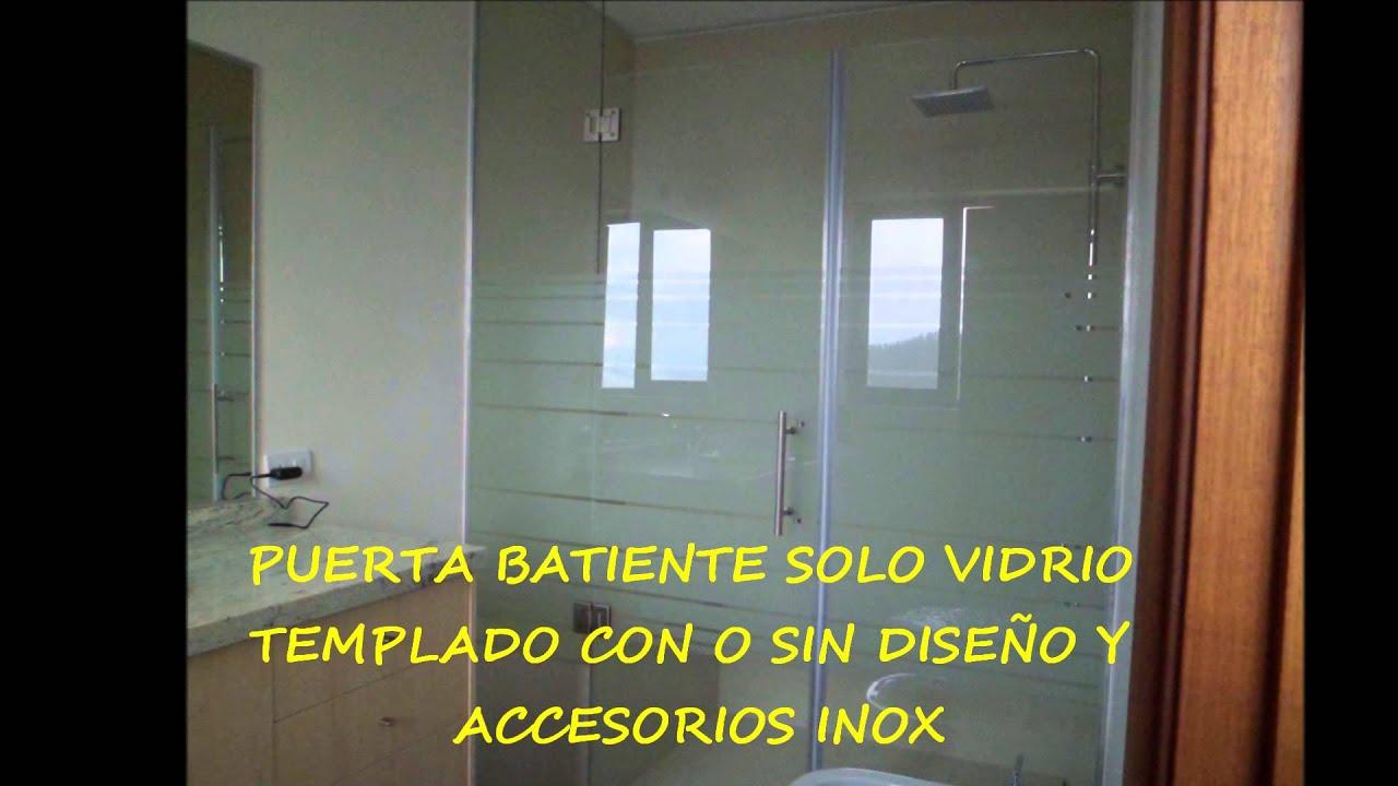 Cabinas De Baño En Quito:Cabinas para baño en vidrio de seguridad – YouTube