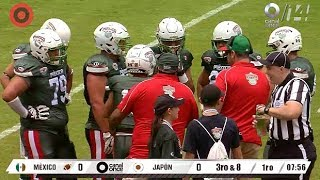 IFAF Under-19 World Championship @ UNAM university, Mexico City. Ju...