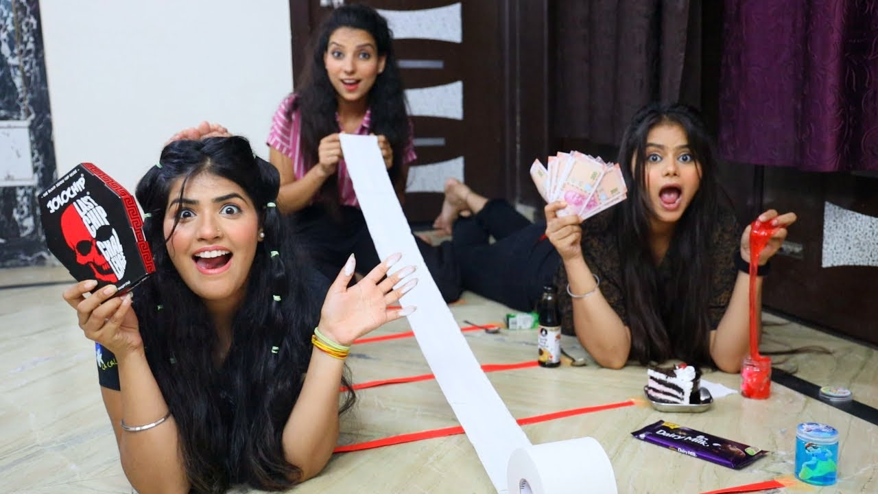 Roll the Tissue Paper challenge and Get Extreme Dares   Roll The Napkin Paper  Challenge