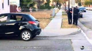 Rottweiler Shot by California Police  Caught on Tape