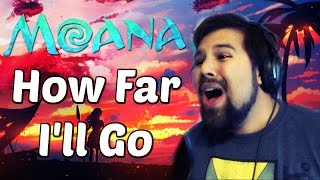 How Far I'll Go (Moana) - Caleb Hyles