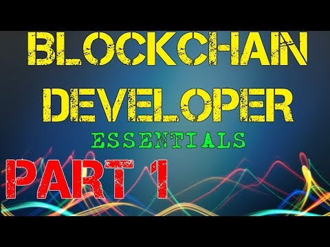 ⛓️ Blockchain Developer Essentials PART 1: Installation and Webserver | Vlad Wulf