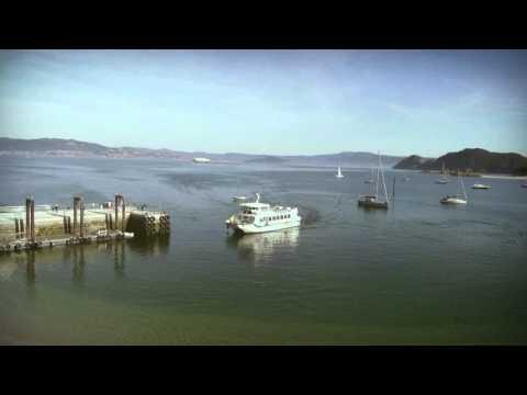 Vigo bay and the Cies Islands