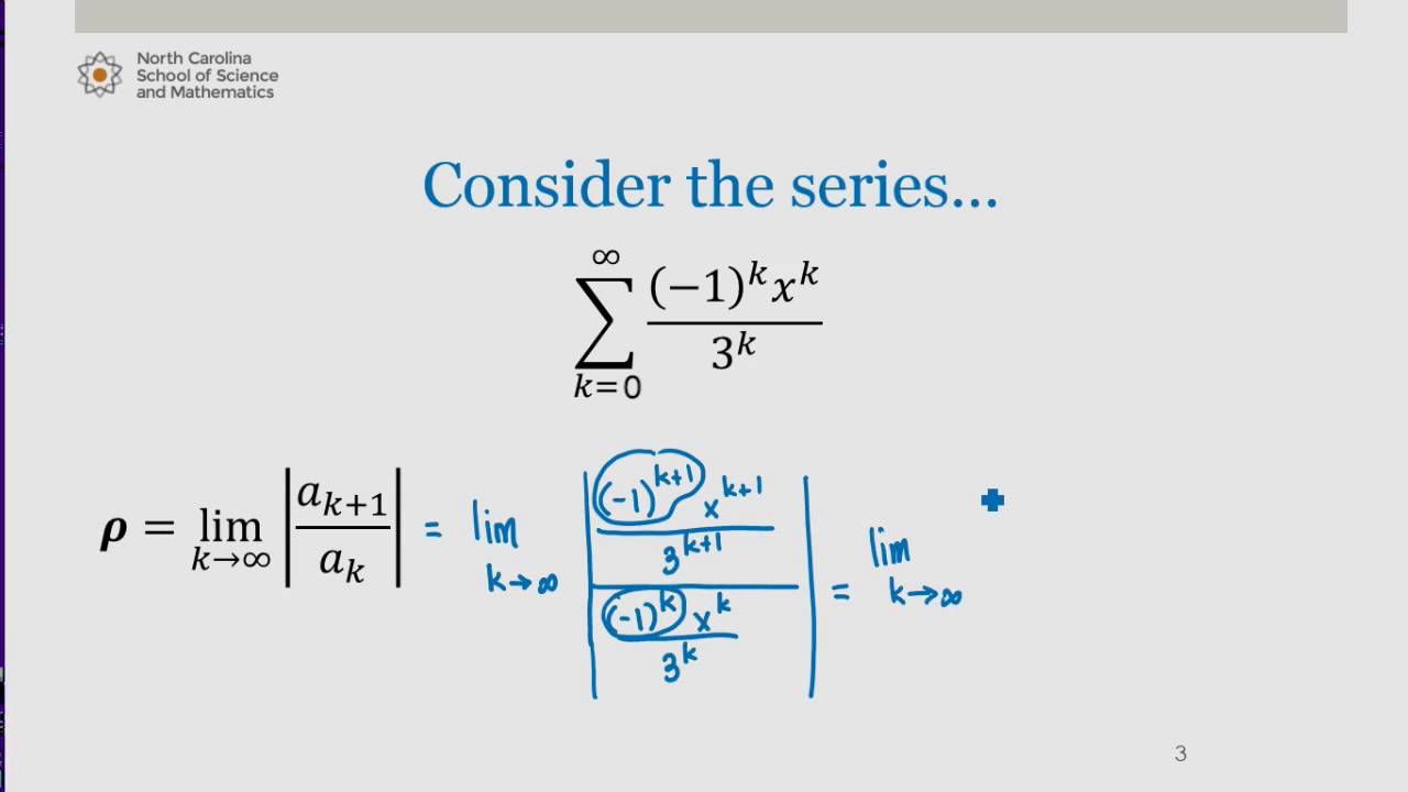 Interval and Radius of Convergence: Example #1