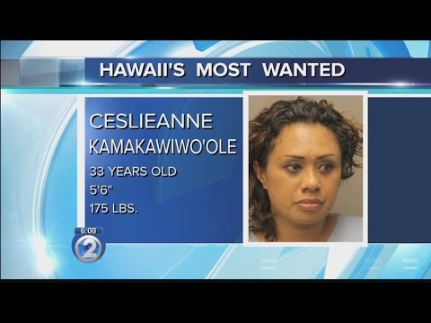 Hawaiis Most Wanted: Ceslieanne Kamakawiwoole
