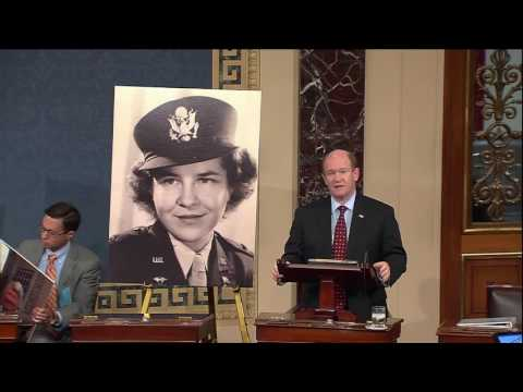 Senator Coons pays tribute to Betty Russell on Senate floor