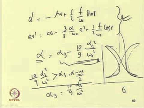 Mod-06 Lec-06 Nonlinear Forced-Vibration of Single and Multi Degree-of-Freedom System