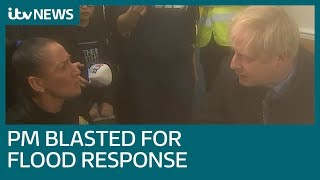 'We're still waiting, Boris': PM confronted in flood-hit Yorkshire | ITV News