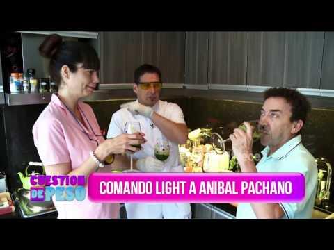 Comando light en la casa de Aníbal Pachano