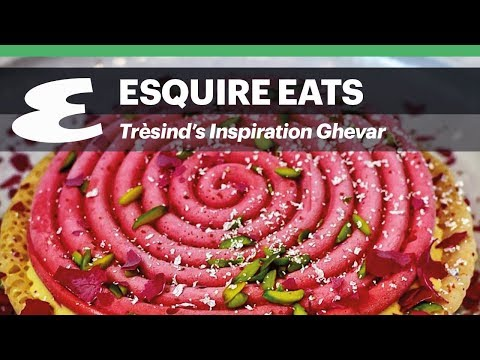 tresind-dubai's-inspiration-ghevar-dessert- -esquire-eats
