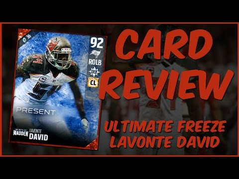 MUT 17 Card Review | Ultimate Freeze Lavonte David Gameplay + Card Review
