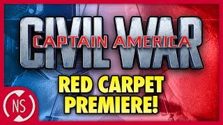 NerdSync at the CAPTAIN AMERICA: CIVIL WAR Red Carpet Premiere!!!