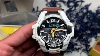 Gambar cover G-shock GRB100WLP Gravitymaster Review - and GIVEAWAY INFO!!