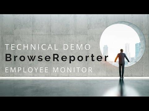 BrowseReporter Employee Monitor