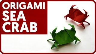 Origami Sea Crab (Jun Maekawa)