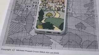 Вышитый чехол для iPhone 5s по дизайну Майкла Пауэлла(В этом видео делюсь увлекательнейшей историей того, как я вышила чехол для айфона по дизайну любимого Майкл..., 2014-12-02T03:35:32.000Z)