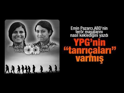"""Emin Pazarcı yazdı   YPG'nin """"tanrıçaları"""" var"""