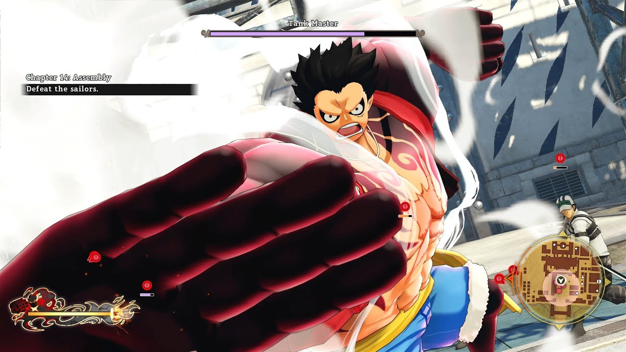 Check out the howstuffworks video games and gear channel. One Piece World Seeker Gear 4th Luffy Transformation Gameplay 4k ïンピース ïールドシーカー Youtube