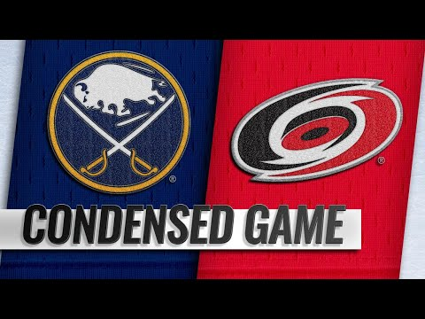 01/11/19 Condensed Game: Sabres @ Hurricanes