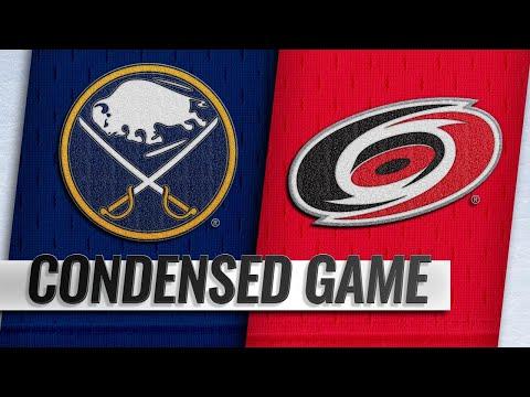 01/11/19 Condensed Game: Sabres @ Hurricanes